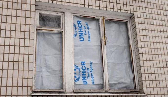 """Обстрел """"министерства"""" в Донецке: боевики опубликовали фото последствий (4)"""