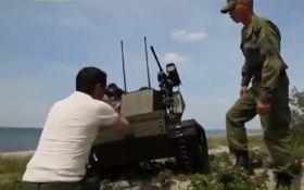 Глупый боевой робот из России взорвал сеть: опубликовано видео
