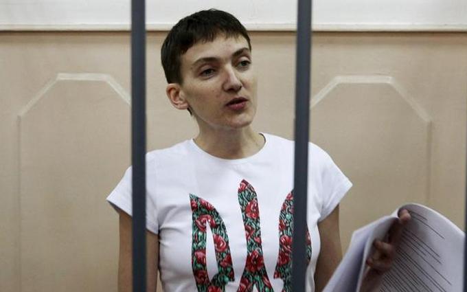 Савченко рассказала, что делать с ее телом в случае смерти