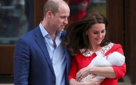 Став відомий титул новонародженого сина Кейт Міддлтон та принца Вільяма
