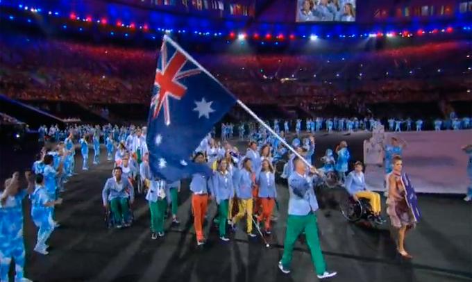 Церемония открытия Паралимпиады-2016: фото и видео из Рио (59)