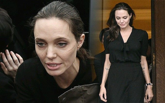 Анджелина Джоли без сознания была госпитализирована из собственного дома