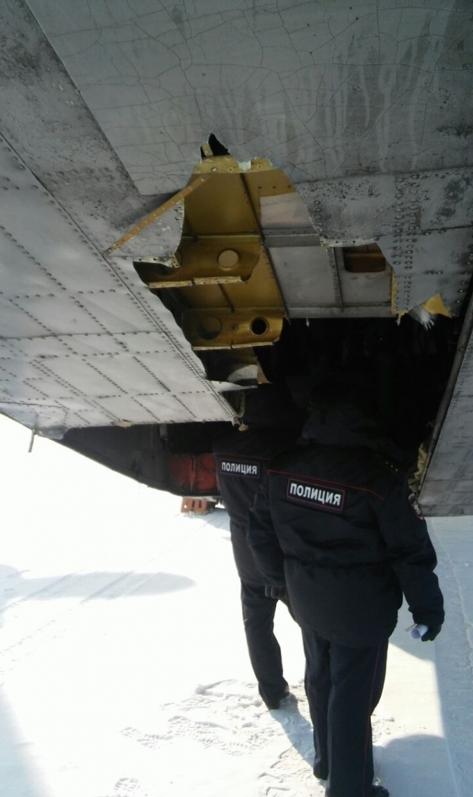 В России самолет потерял тонны золота и бриллиантов: появились фото и видео (2)