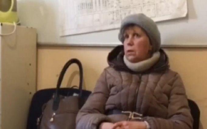 Женщина, которая на русском ТВ именовала ВСУ мародерами, пришла поукраинской пенсией