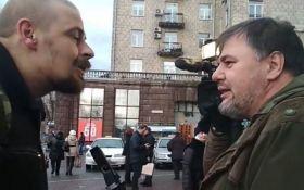 """Опубликовано полное видео конфликта между членом """"Правого сектора"""" и блогером в Киеве"""