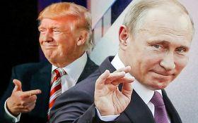 В США жестоко посмеялись над Путиным и Трампом: появилось фото