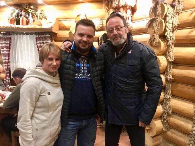 В Україну приїхав легендарний актор: опубліковано фото (1)