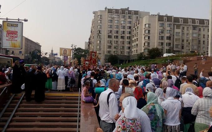 Московський патріархат попередив про провокації проти хресної ходи