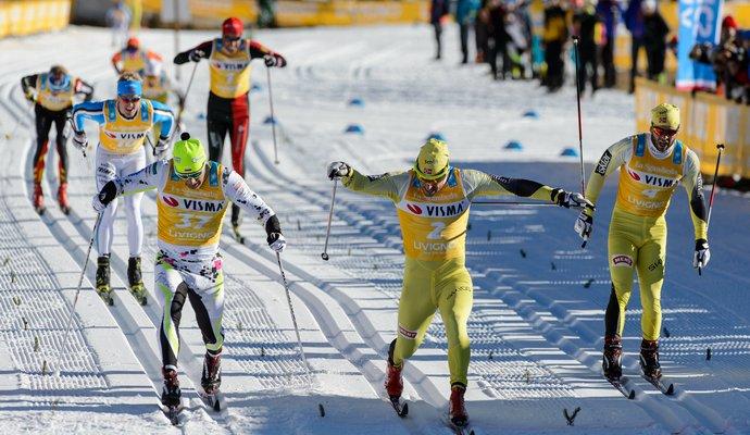 Украинский лыжник дошел до полуфинала спринта юношеской Олимпиады