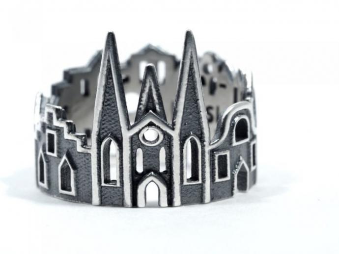 Драгоценные кольца с городскими пейзажами (22 фото) (17)