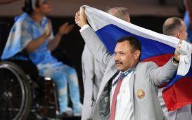 Білорус-любитель прапора Росії поплатився за демарш на Паралімпіаді