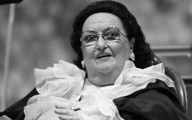 Умерла всемирно известная оперная певица Монсеррат Кабалье