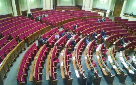 Парубий досрочно закрыл заседание Рады