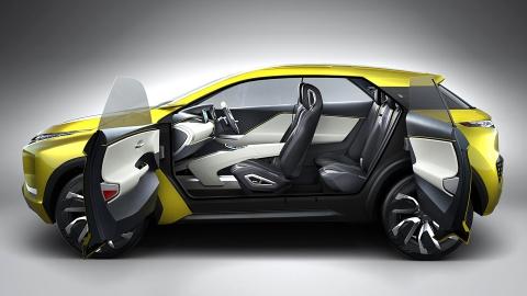Mitsubishi показала прототип електричного кросовера під назвою eX (5 фото) (1)