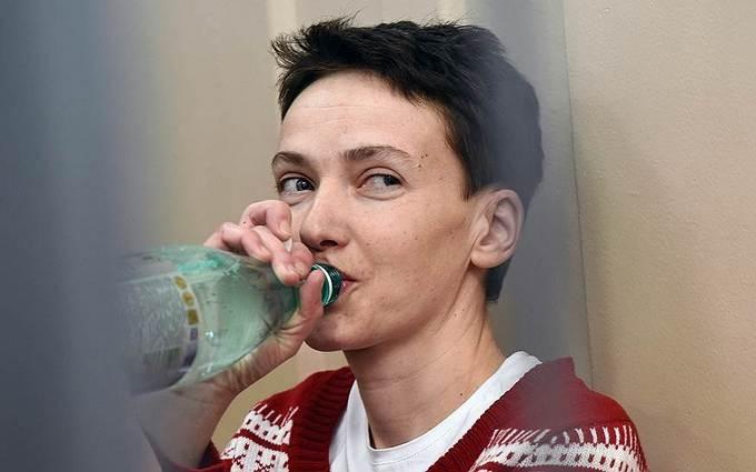 Стало известно о состоянии здоровья Савченко