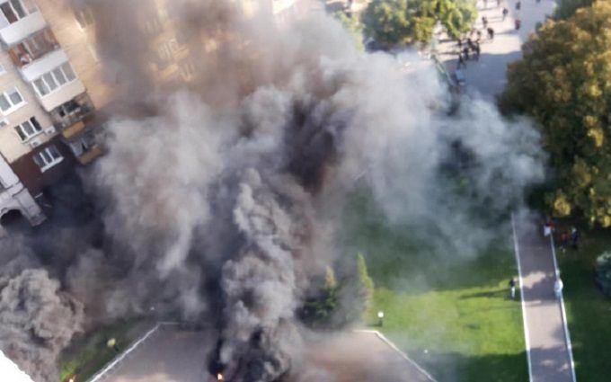 Чергове побоїще в Києві: з'явилися дані про постраждалих і нове відео