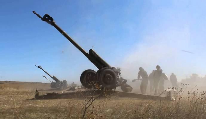 При обстреле Марьинки ранено пятеро служащих ВСУ