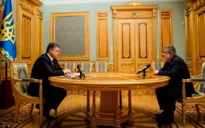ЗМІ дізналися про таємні переговори Порошенко та Коломойського