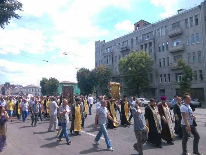 На Київ йдуть прихильники