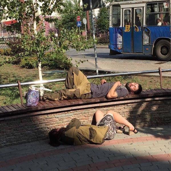 У Донецьку знайшли «жертв українських диверсантів»: з'явилося смішне фото (1)