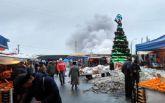 На знаменитом рынке в Одессе произошел сильный пожар: появились фото и видео