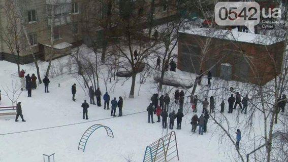 Взрыв квартиры в Сумах: появились фото и видео (2)