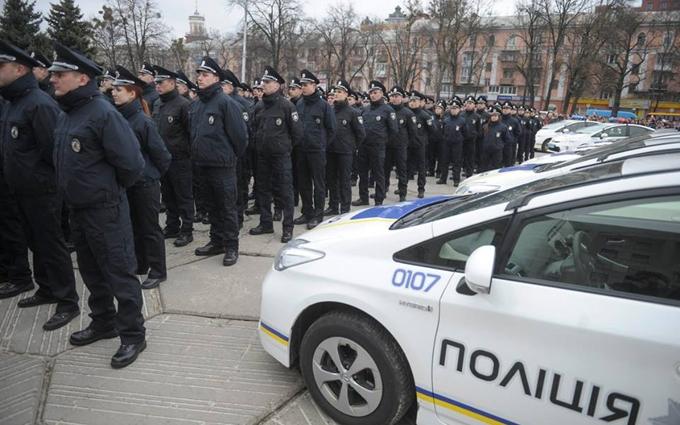 Патрульные полицейские приняли присягу в Полтаве: опубликованы фото