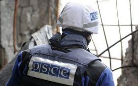 В Луганской области возле патруля ОБСЕ произошел взрыв и стрельба