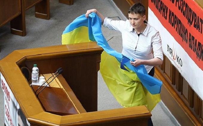 Війна на Донбасі: Савченко розповіла, що її дратує