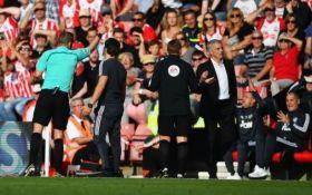 ФА не будет наказывать Моуриньо за удаление в матче с Саутгемптоном