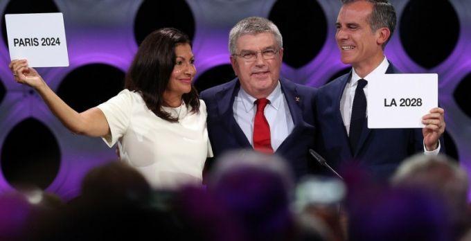 Париж и Лос-Анджелес официально названы хозяевами Олимпийских игр 2024 и 2028 годов