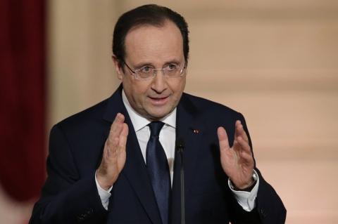 Олланд назвав скасування виборів на Донбасі однією з умов закінчення кризи (1)