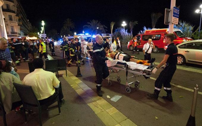 З'явилося відео ліквідації терориста в Ніцці