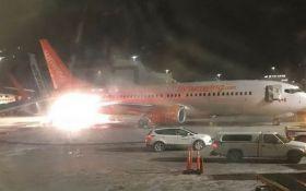В аэропорту Канады произошла серьезная авария: появилось видео с горящим самолетом
