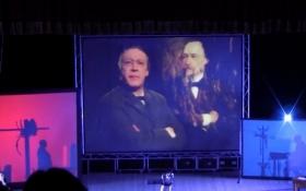 Російський актор показав Києву пародії на Путіна і його людину: з'явилося відео