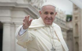 """Вам загрожує велика """"демографічна зима"""": Папа Римський звернувся до лідерів ЄС"""
