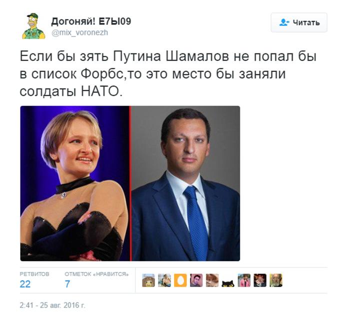 Соцмережі розвеселив зять Путіна, який потрапив до списку головних багатіїв Росії (2)