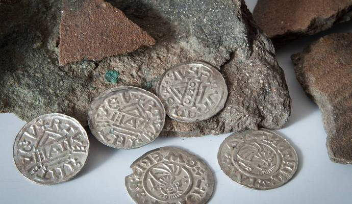 В Чехии найдены монеты Х века