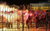 "Фанаты ""Шахтера"" сожгли флаги ДНР в Луцке: опубликованы фото"