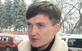 Зустріч Савченко з ватажками ДНР-ЛНР: нардеп розбурхала мережу новою заявою