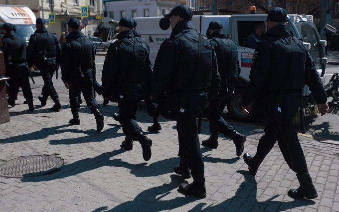 Милиция оценила число участников акции оппозиции в столице в250 человек
