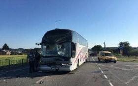 Автобус с детьми попал в ДТП под Львовом: опубликованы фото