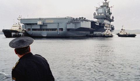 Росія направить до берегів Сирії єдиний авіаносець