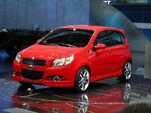Chevrolet Aveo New – лучший автомобиль SIA'2008