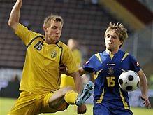 Шведские футболисты рассказали об игре со сборной Украины