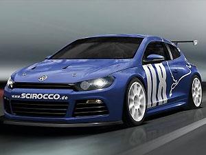 VW показал гоночный Scirocco GT24 (3 фото)