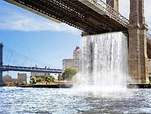 Нью-Йоркские водопады откроются 26 июня