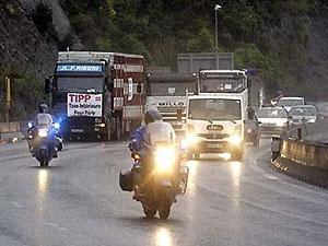 Париж встал из-за забастовки водителей-дальнобойщиков
