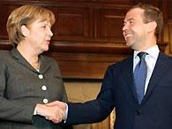 Медведев и Меркель обсудят отношения России и ЕС
