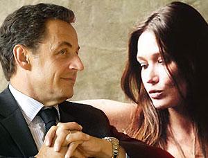 Карла Бруни рассказала о подробностях романа с Николя Саркози